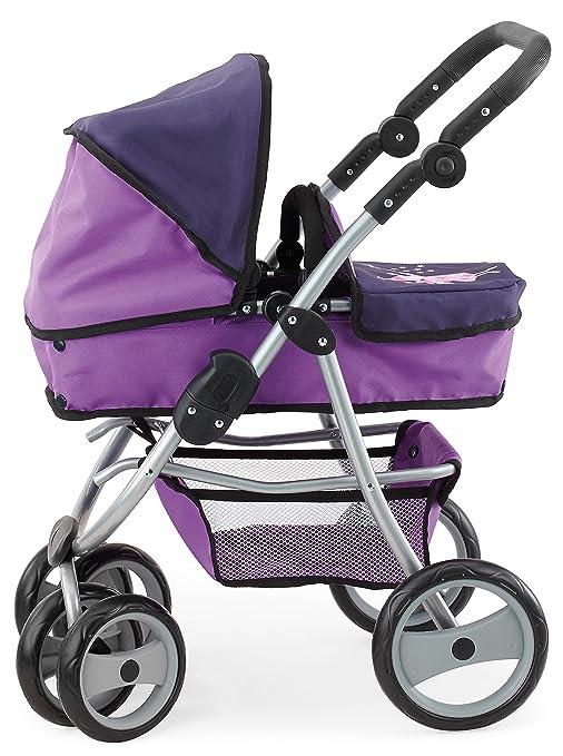 Bayer Design - Jogger Vario, cochecito de muñeca, color lila (22212)