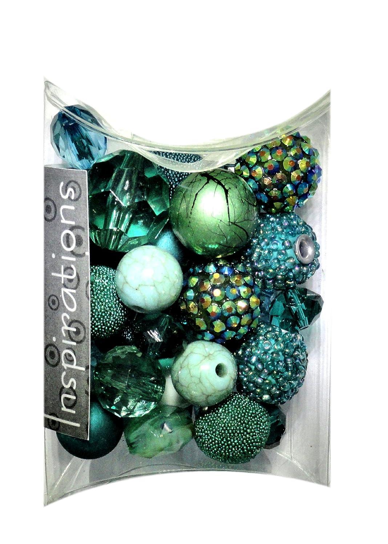 Jesse James Beads 5737 Bluegreen Inspirations Beads 50g-Atmospheric Jesse James & Co. Inc.