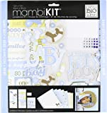 me & my BIG ideas Scrapbook Page Kit, That's My Boy, 12-Inch by 12-Inch