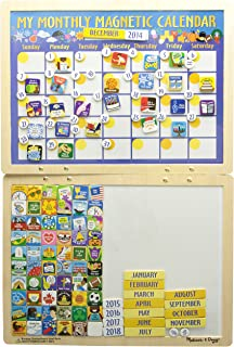 My First Daily Magnetic Calendar Skill Builders Magnetic