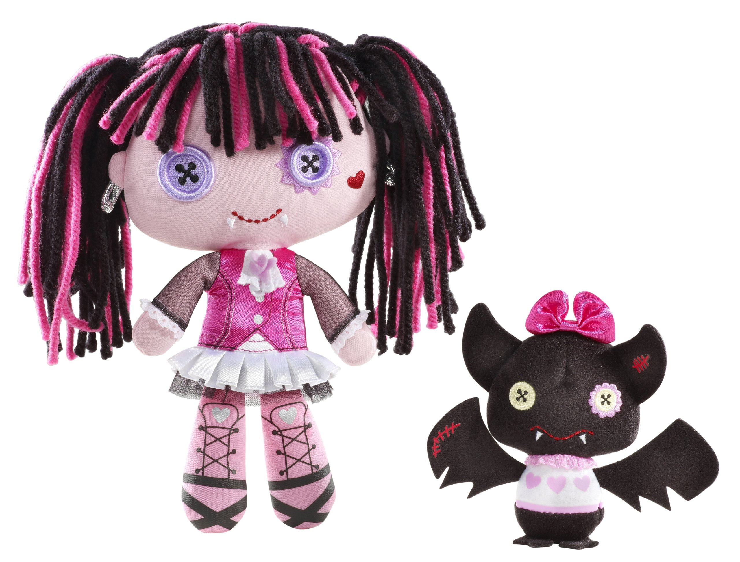 Monster High Friends Plush Draculaura Doll