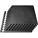 PROIRON Interlocking Floor Mat Protective Mats Floor Guards 16/24 SQ FT