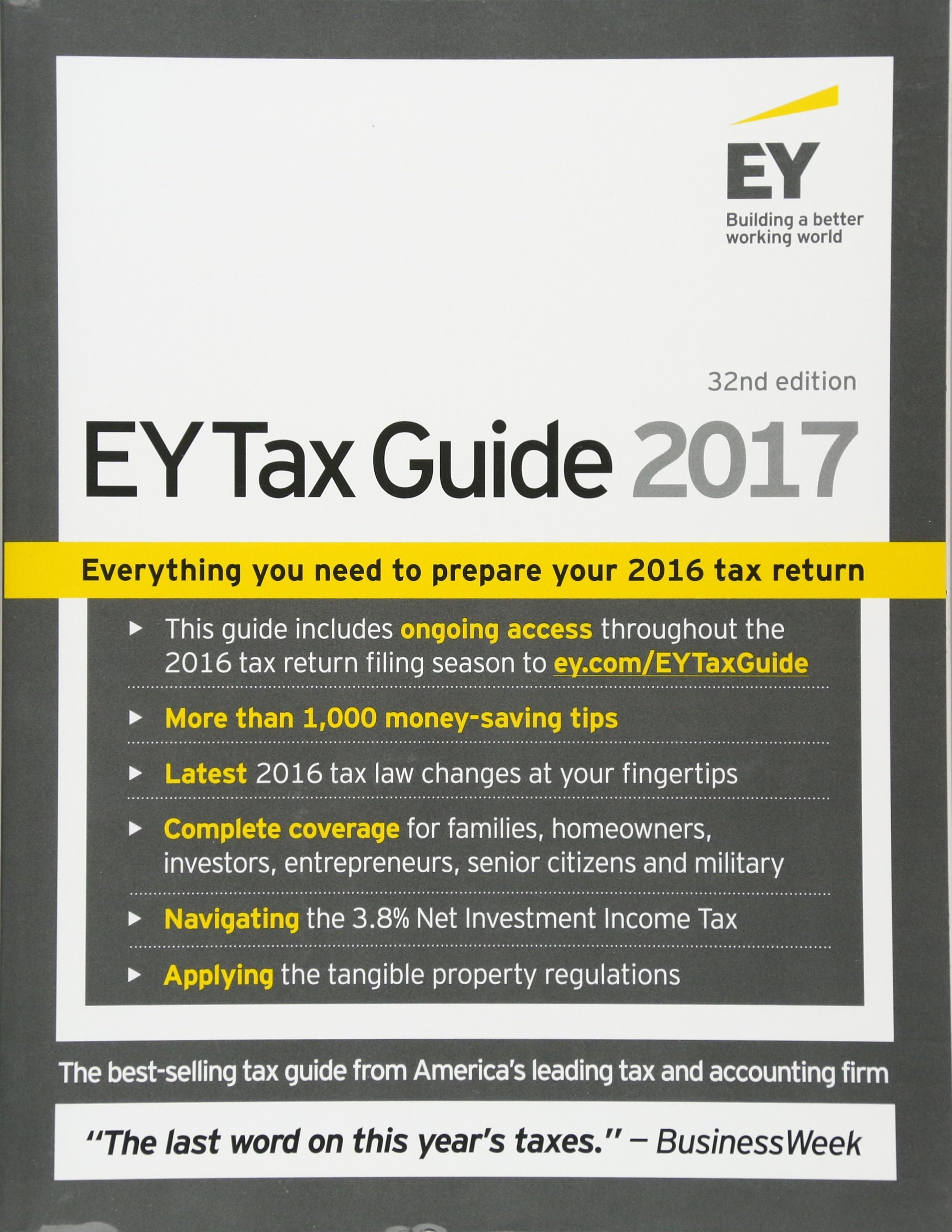 Ernst & Young Tax Guide 2017: Ernst & Young LLP