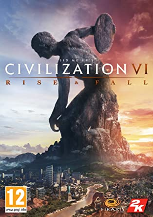 Image result for Sid Meier's Civilization® VI Rise and Fall cover pc