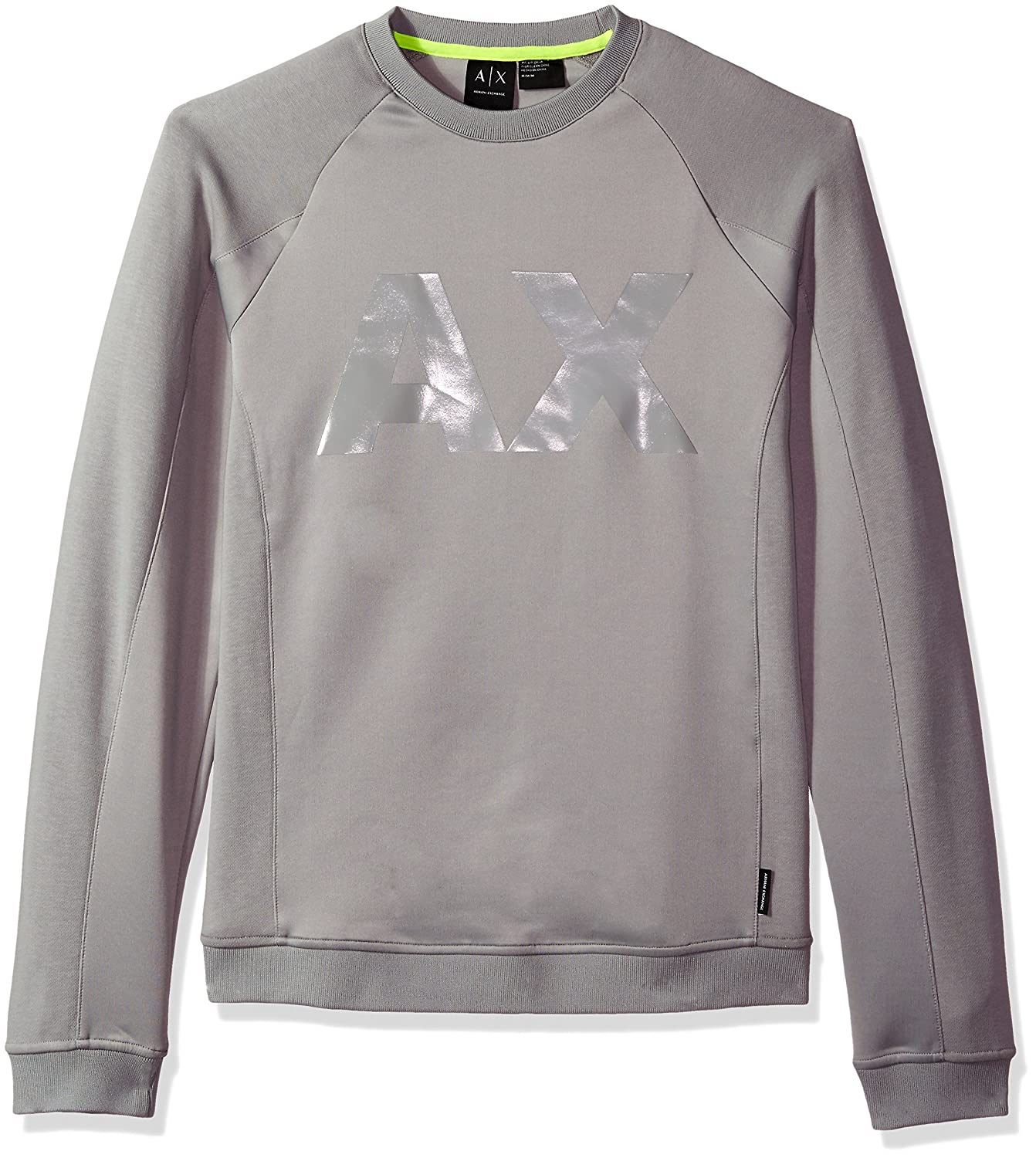 Amazon.com: A|X Armani Exchange Mens Neoprene Sweatshirt Ax Logo: Clothing