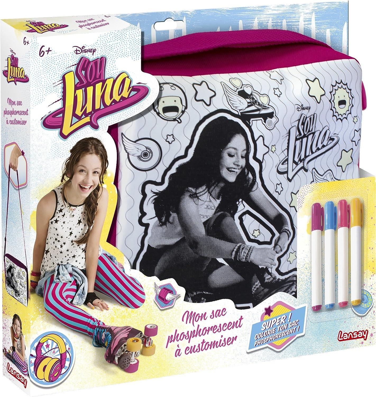 Lansay Soy Luna Mon Sac Phosphorescent A Customiser Amazon Jeux et Jouets