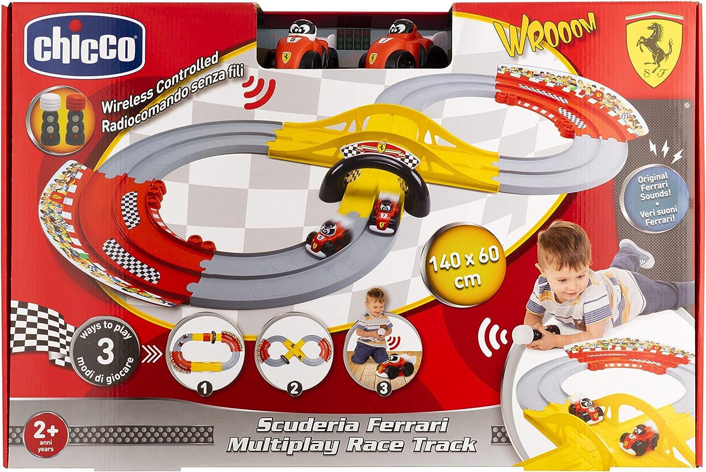 Circuit De Course Ferrari Chicco Multicolore 9690000000