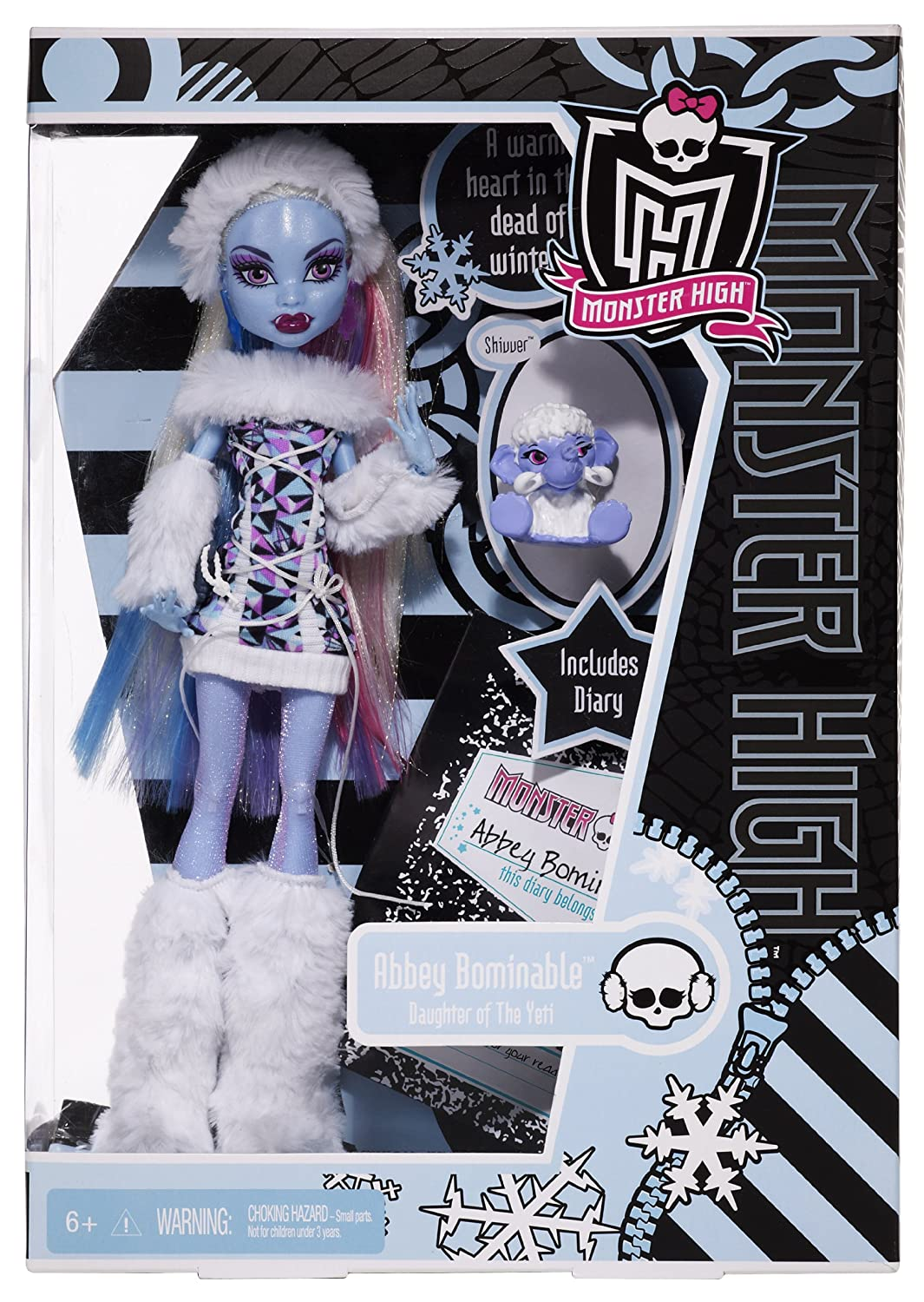 Uncategorized Monster High Abby amazon com monster high abbey bominable doll daughter of the yeti toys games