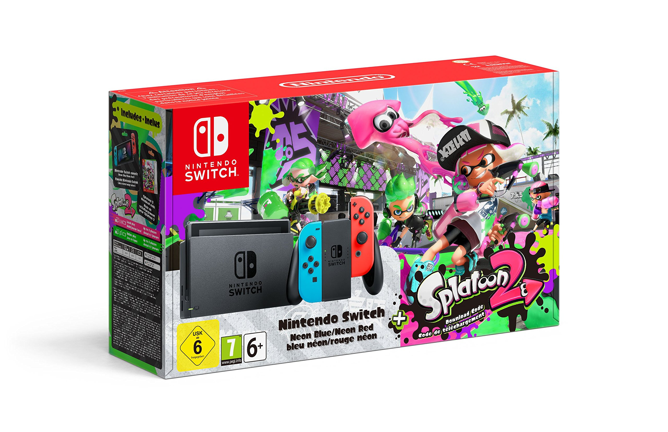 Nintendo Switch Console + Splatoon 2