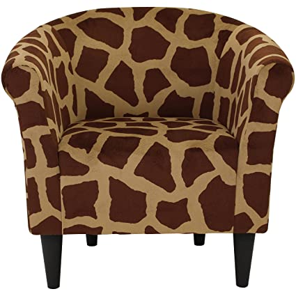 .com: parker lane uch-mrl-pon2 safari club chair, giraffe ...