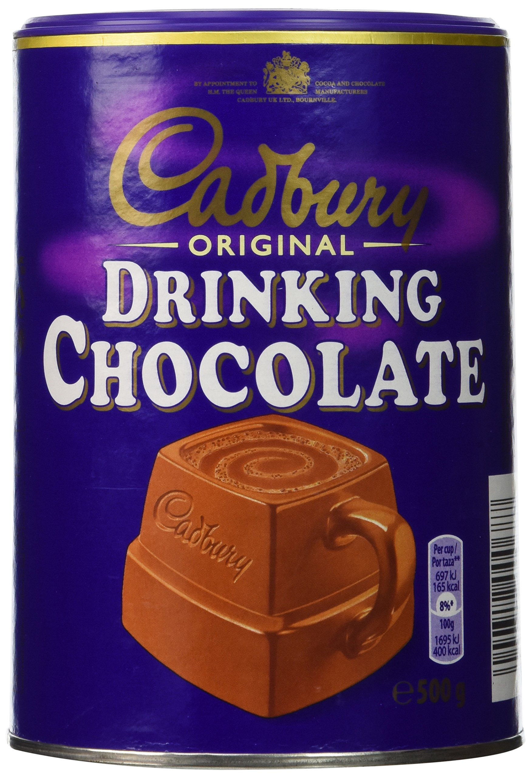 Amazon Com Cadbury Original Drinking Chocolate 500gram