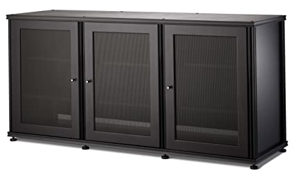 Attrayant Salamander Designs SB337B/B Synergy Triple A/V Cabinet With Three Doors