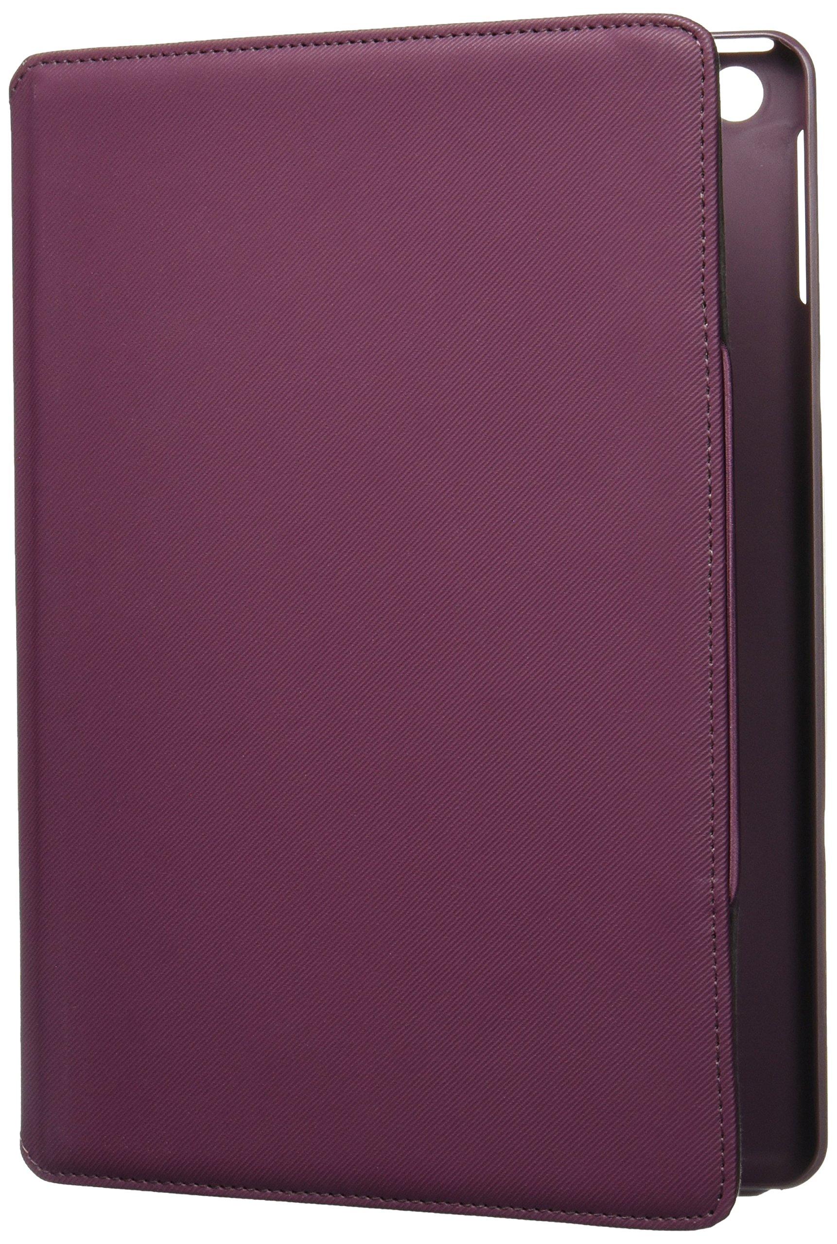 Targus Versavu Rotating Case for iPad Air, Black Cherry (THZ19602US), 9.7 inch