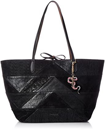look good shoes sale how to buy first rate BORSA CAPRI SNAKE PATCH REVERSIBLE + POCHETTE