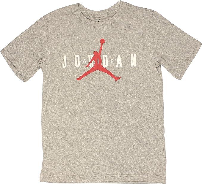 Nike - Camiseta Jordan para niño, color gris: Amazon.es: Ropa y accesorios