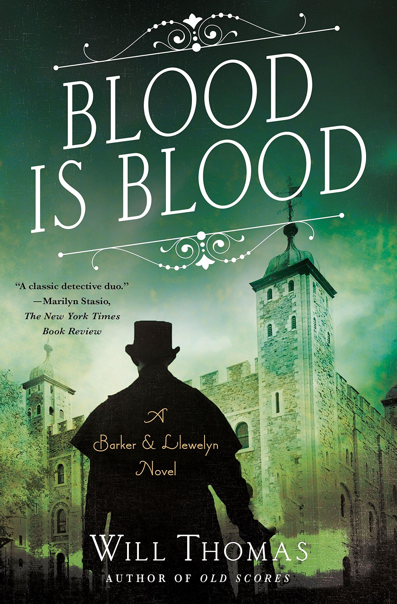 Blood Is Blood (A Barker & Llewelyn Novel)