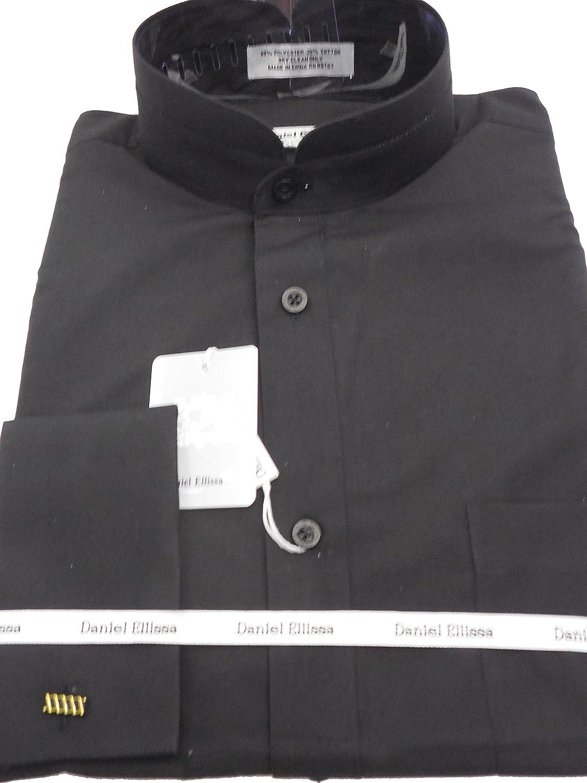 Amazon Daniel Ellissa Mens Black Tall Nehru Banded Collar