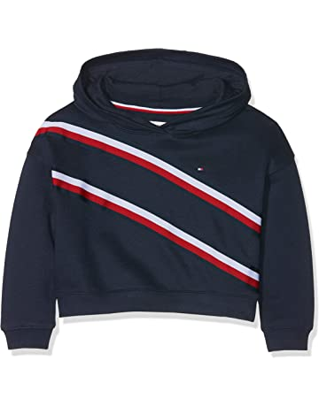 87605b2069887 Tommy Hilfiger Knitted Tape Hoodie Sweat-Shirt À Capuche Fille