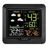 La Crosse Technology S85814 Wireless Color Forecast Station with Barometric Pressure