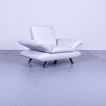 Amazonde Koinor Rossini Designer Leder Sessel Eisblau Einsitzer