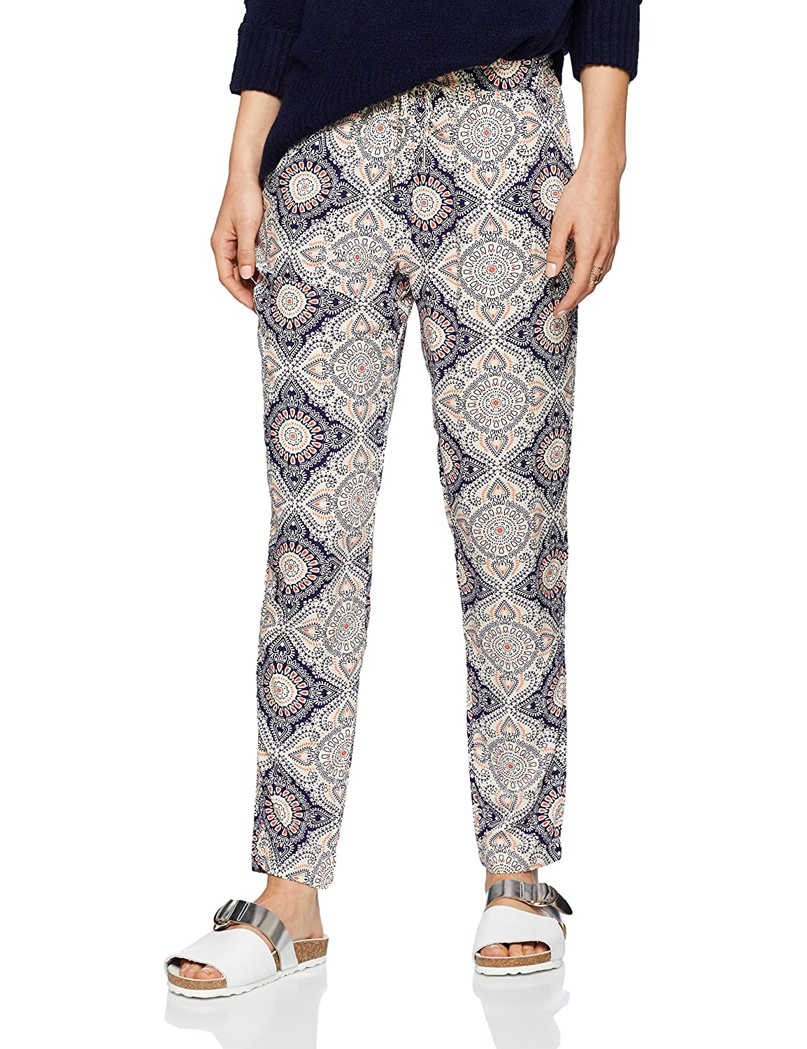 Womens Jasper Tropical Print Trousers New Look Clearance With Credit Card Outlet Fast Delivery Original bOR1S0jGk