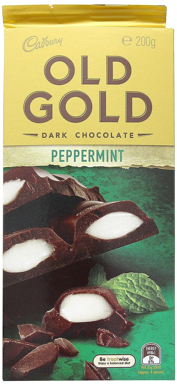 Cadbury Edad de Oro de Menta Chocolate 200gm: Amazon.es: Alimentación y bebidas