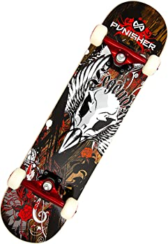 Punisher Legends Complete Skateboard