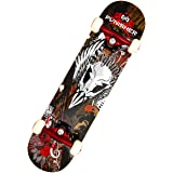 Punisher Skateboards Legends Complete 31-Inch Skateboard with Canadian Maple