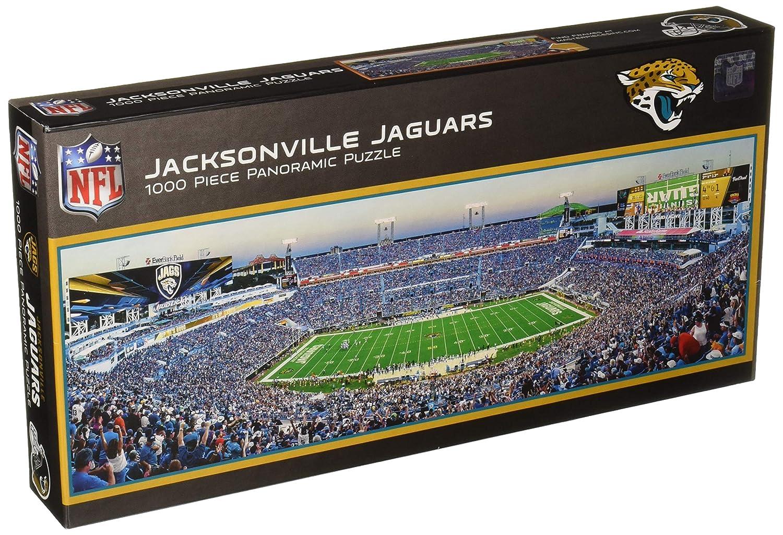 e5d2334c Amazon.com: MasterPieces NFL Jacksonville Jaguars 1000 Piece Stadium ...