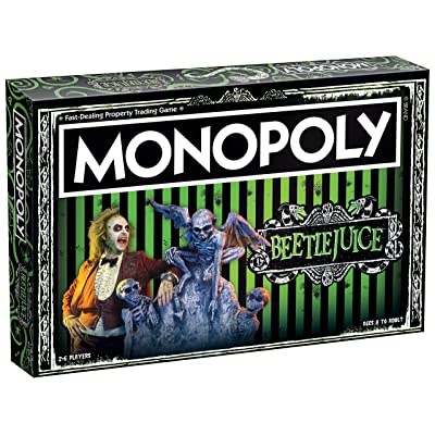 Monopoly Beetlejuice Board Game | Based on The 80's Fantasy Film Beetlejuice | Officially Licensed Beetlejuice Merchandise | Themed Classic Monopoly Game: Toys & Games