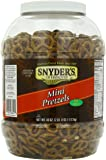 Snyders Mini Pretzels Tub, 40 Ounce