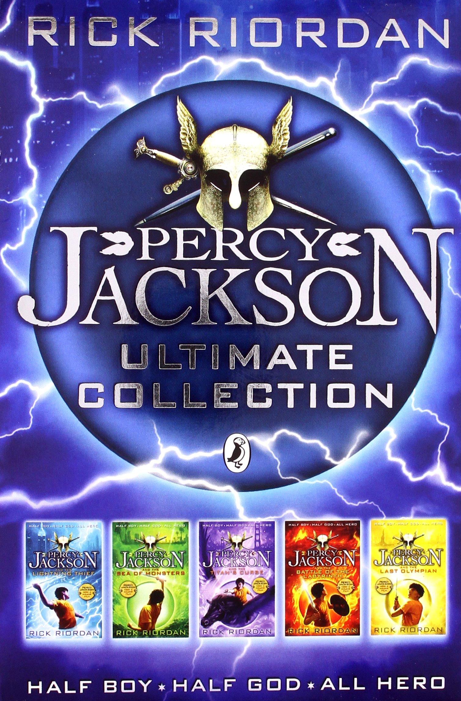 S/P Percy Jackson 5 Copy: Amazon.es: Stock Pack: Libros en idiomas extranjeros