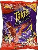 Takis Paleta Fuego Chamoy Enchilada Mexican Candy Hot Chili Lollipops 15 Pcs