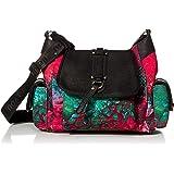 Desigual Accessories Fabric Shoulder Bag, Bolso bandolera. para Mujer, rojo, U