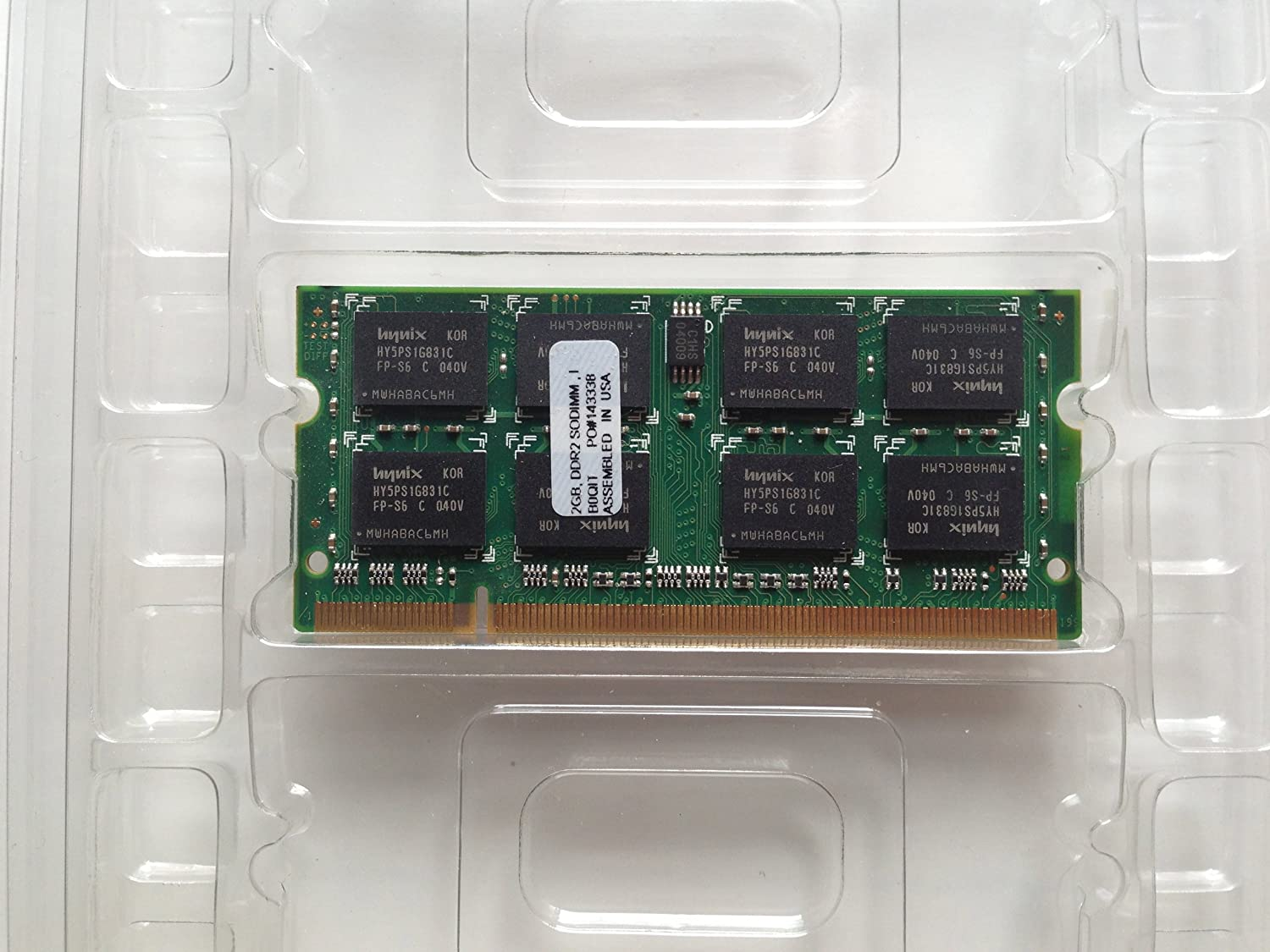 20gb 2048mb Pc5300 Ddr2 667mhz So Dimm 200 Pin Memory Module At 2gb