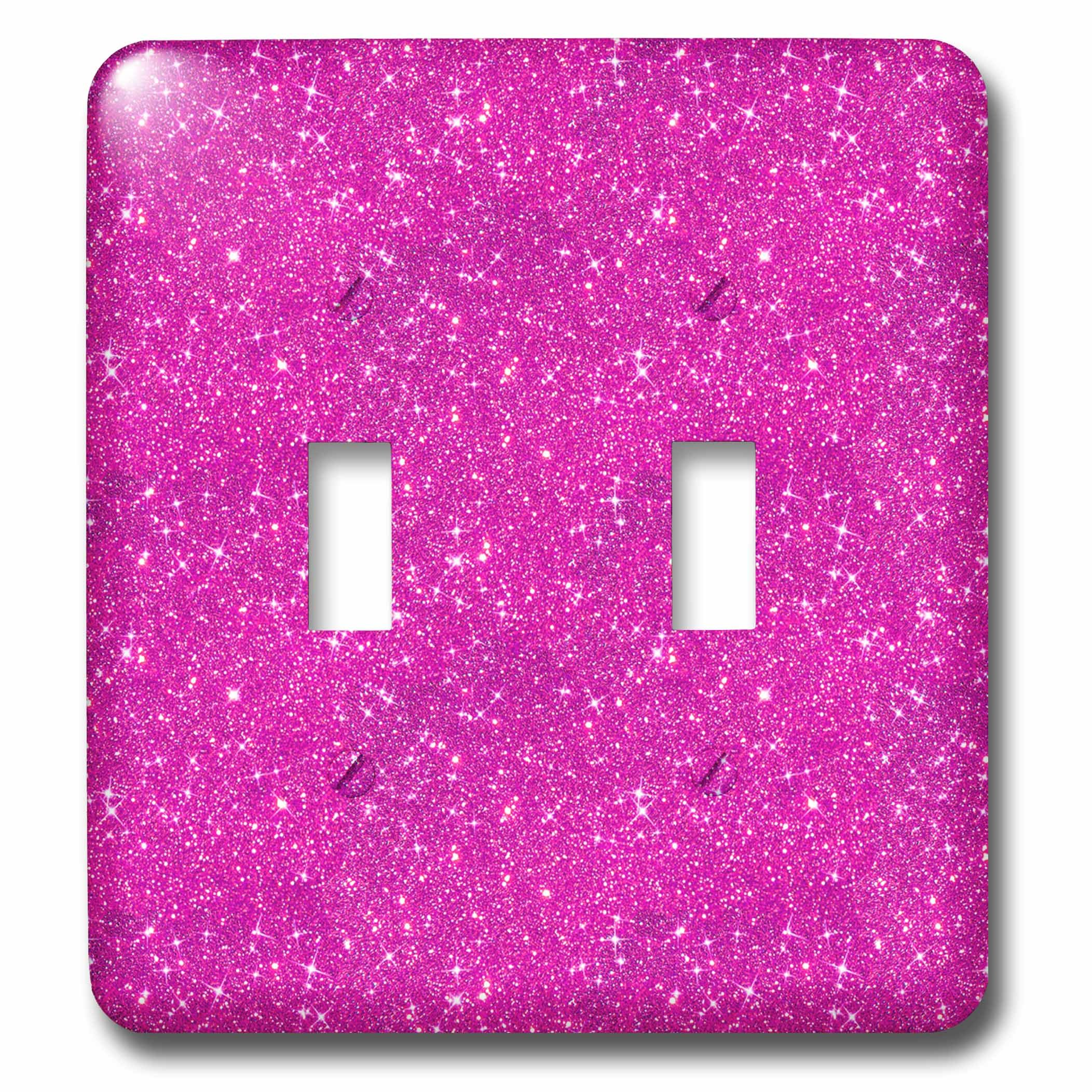 3dRose LSP_274956_2 Image of Sparkling Shiny Pink Luxury Elegant Mermaid Glitter Toggle Switch,