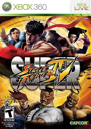 Capcom Super Street Fighter IV, Xbox 360, ESP Xbox 360 Español ...