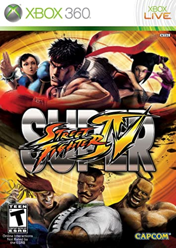 Amazon Com Super Street Fighter Iv Xbox 360 Video Games