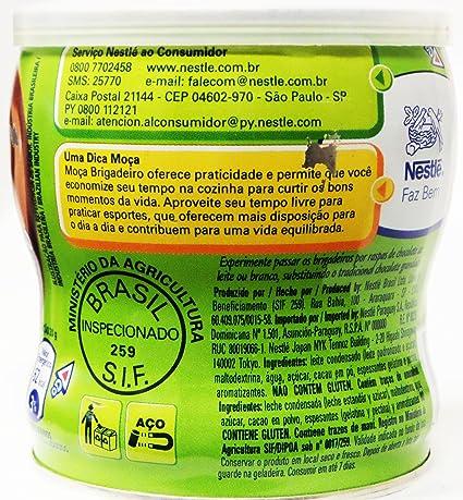 Amazon.com : Nestlé - Moça Fiesta - Chocolate Truffle - 13.58 Oz (PACK OF 02)   Brigadeiro - 385g : Chocolate Truffles : Grocery & Gourmet Food