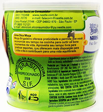Amazon.com : Nestlé - Moça Fiesta - Chocolate Truffle - 13.58 Oz (PACK OF 02) | Brigadeiro - 385g : Chocolate Truffles : Grocery & Gourmet Food