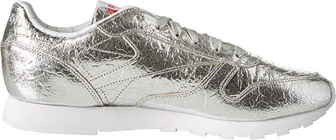 Reebok Damen Classic Leather HD Sneaker, Silber (Silver