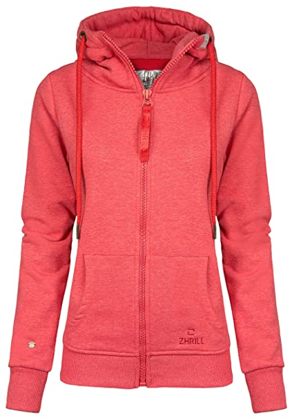 Zhrill -Chaqueta Deportiva Mujer T6054 - Red XS
