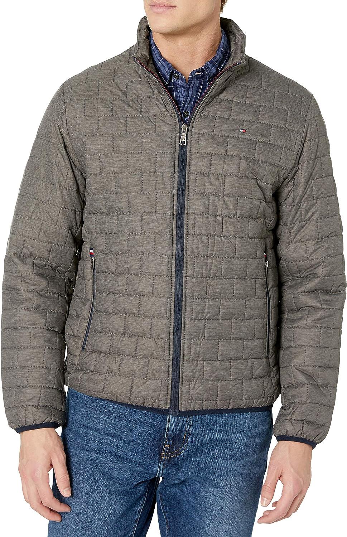Tommy Hilfiger Men's Lightweight Quilted Ultra Loft Packable Puffer Jacket