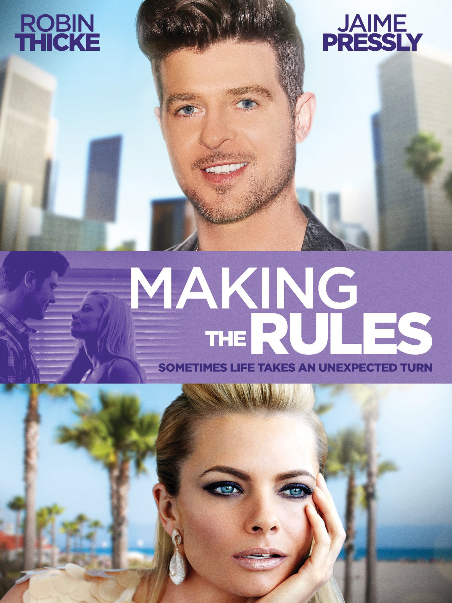Amazoncom Making The Rules Robin Thicke Jaime Pressly Joey