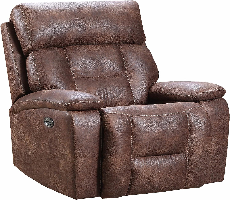 Amazon Com Simmons Upholstery Dorado Walnut 50755br 19
