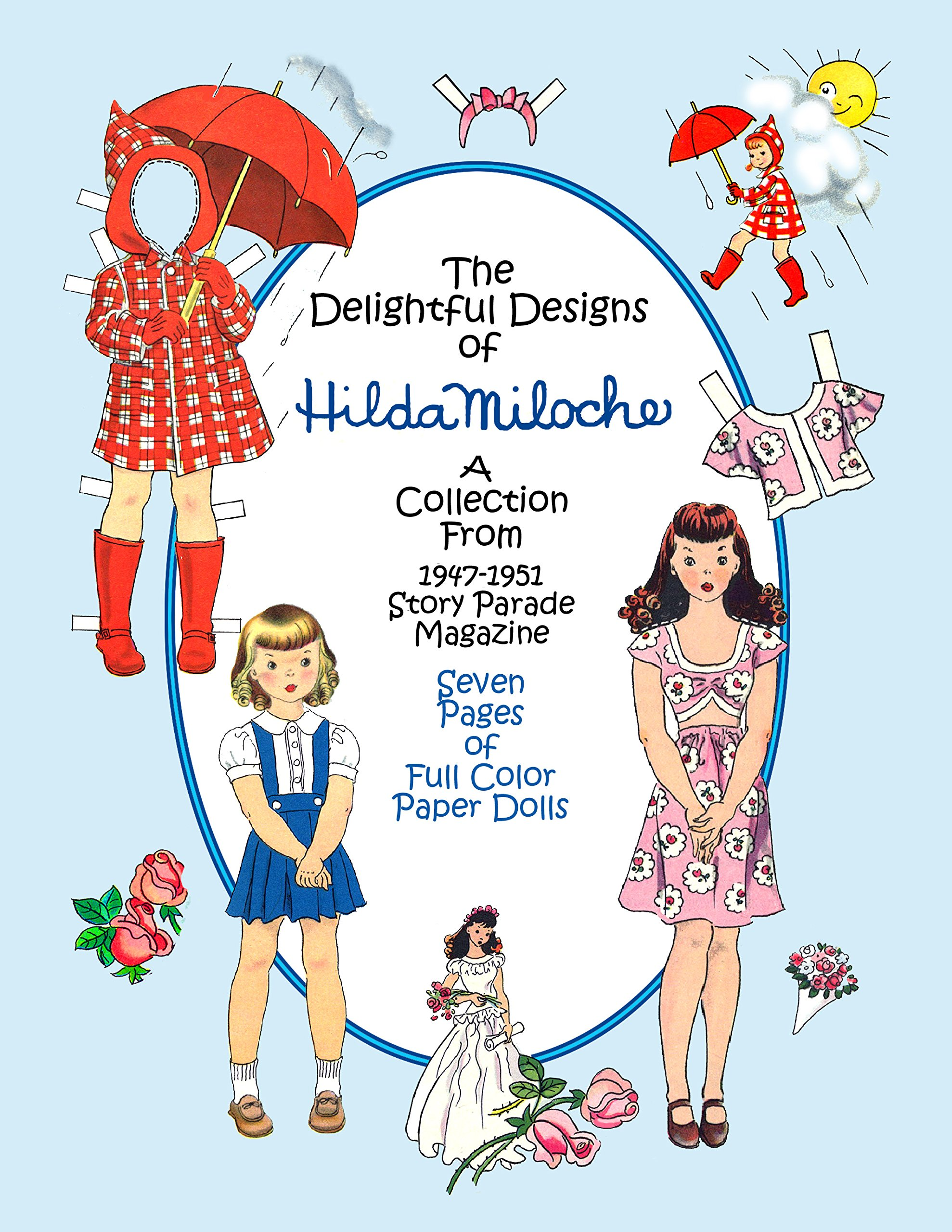 Hilda Miloche Paper Doll Collection I, #0554 PDF ePub book