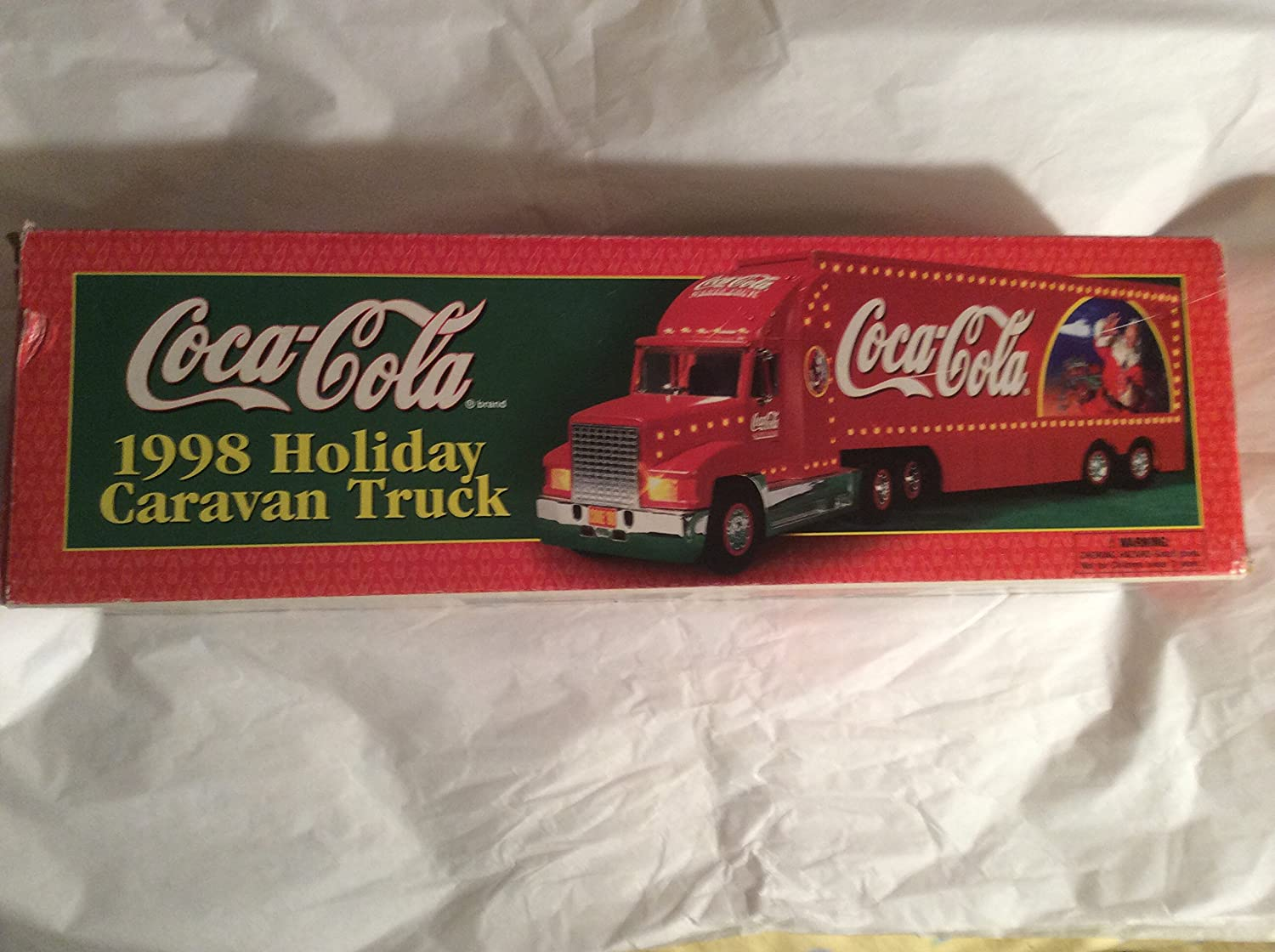 Coca Cola Holiday Truck Lot 1998 to 2005 Lights /& Sound Collection Set of 8