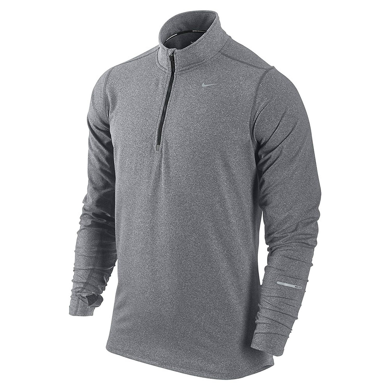Amazon.com : Nike Mens Dri-Fit Element Half Zip Running Top (L) : Sports &  Outdoors