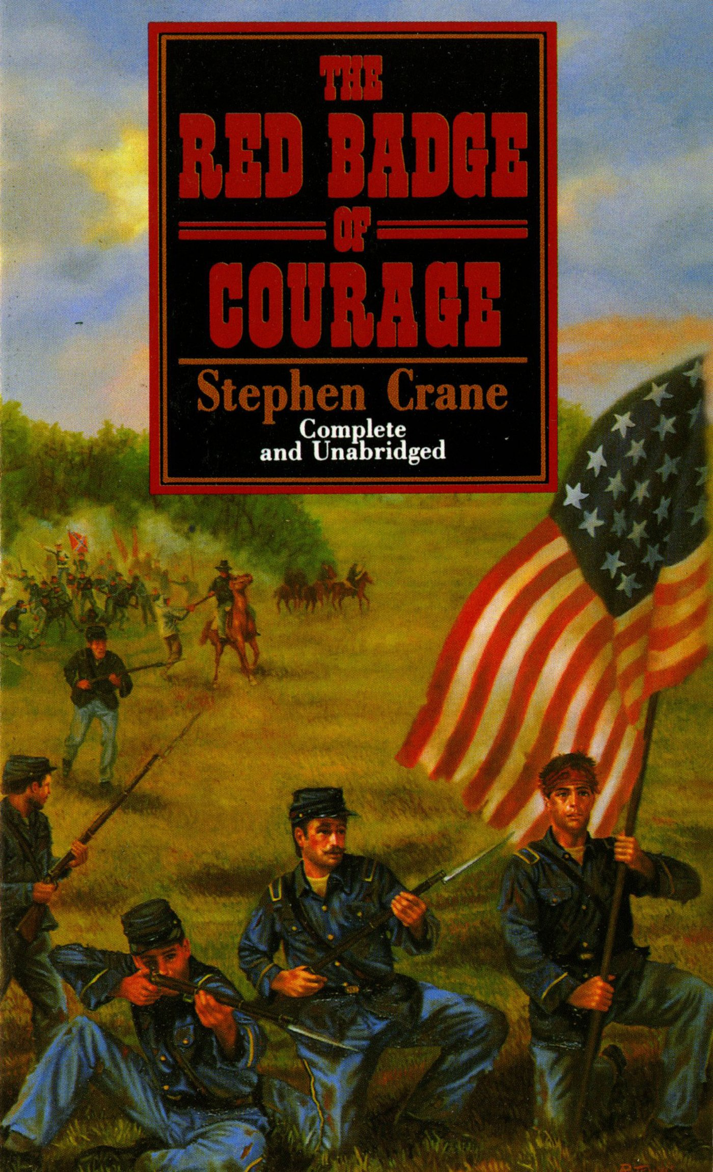 Amazon.com: The Red Badge of Courage (Tor Classics) (9780812504798): Crane, Stephen: Books