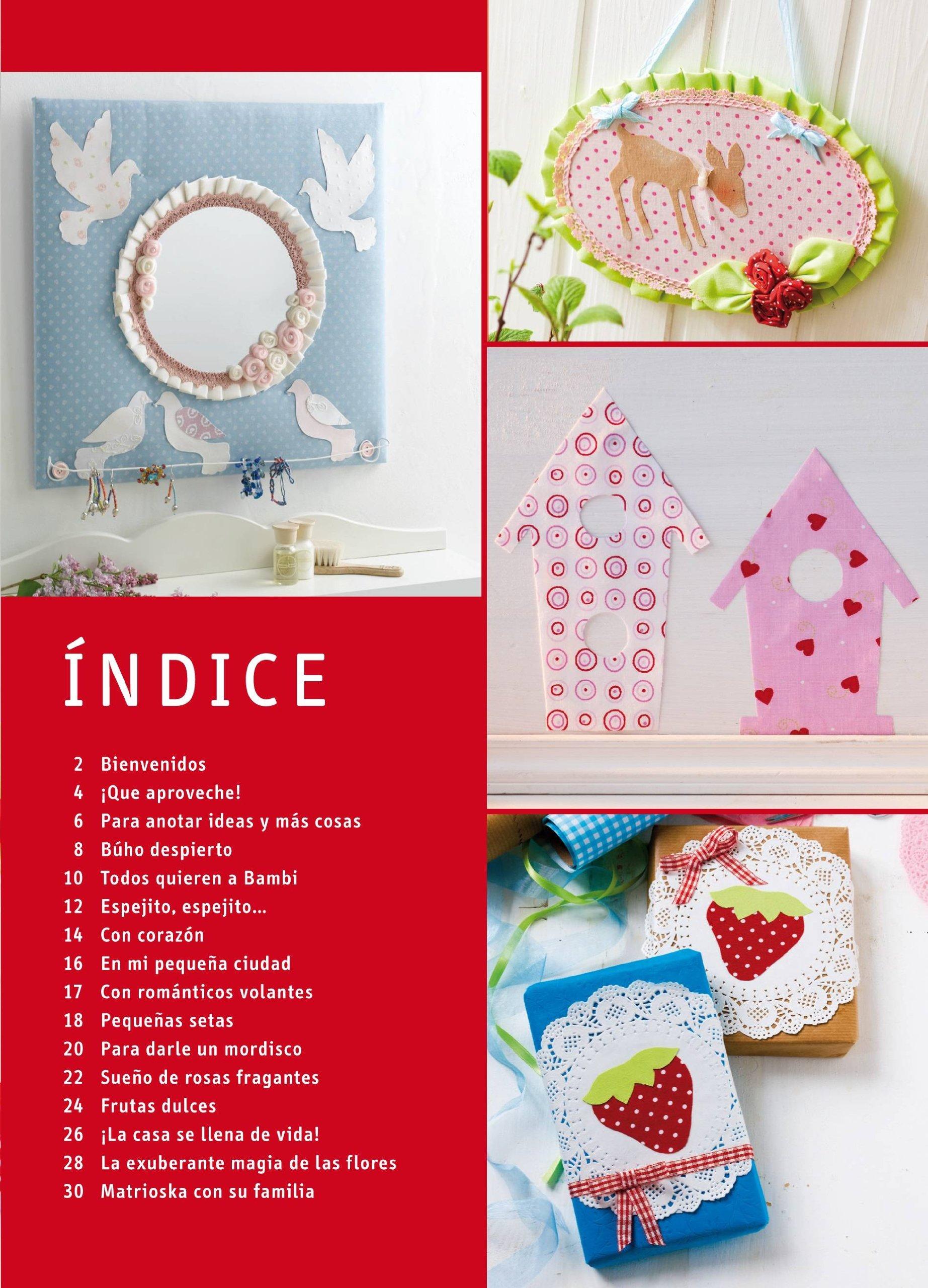 Ideas para decorar la casa con telas sin usar hilo ni aguja: Con patrones para realizar 16 proyectos: Katrin Kugler: 9788498743838: Amazon.com: Books